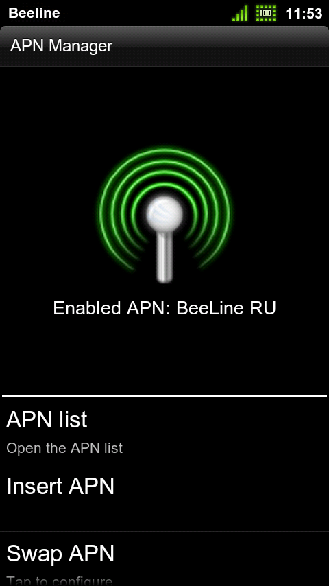 apn manager android